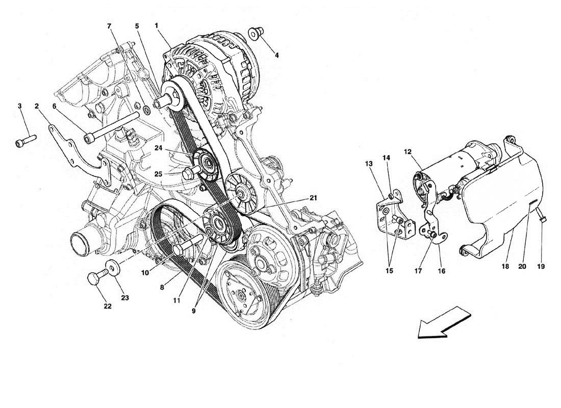 Ferrari Engine Diagram