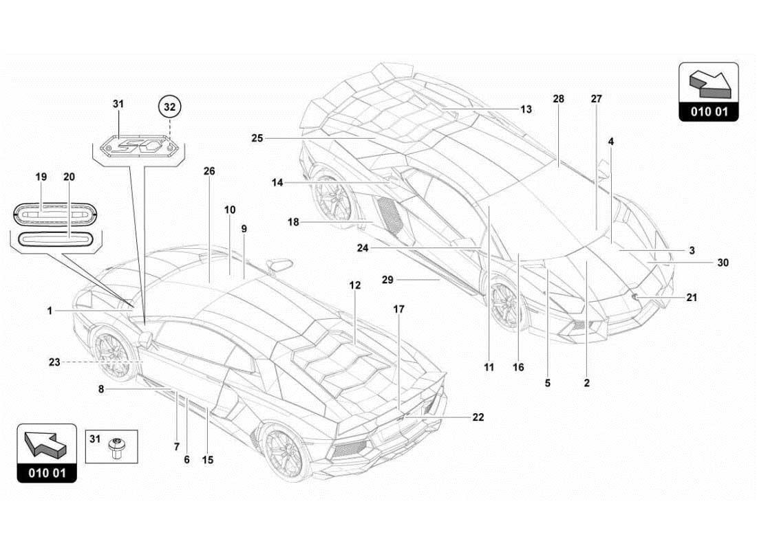 hight resolution of diagram search for lamborghini aventador lp700 4 roadster ferrpartslamborghini engine diagrams 9