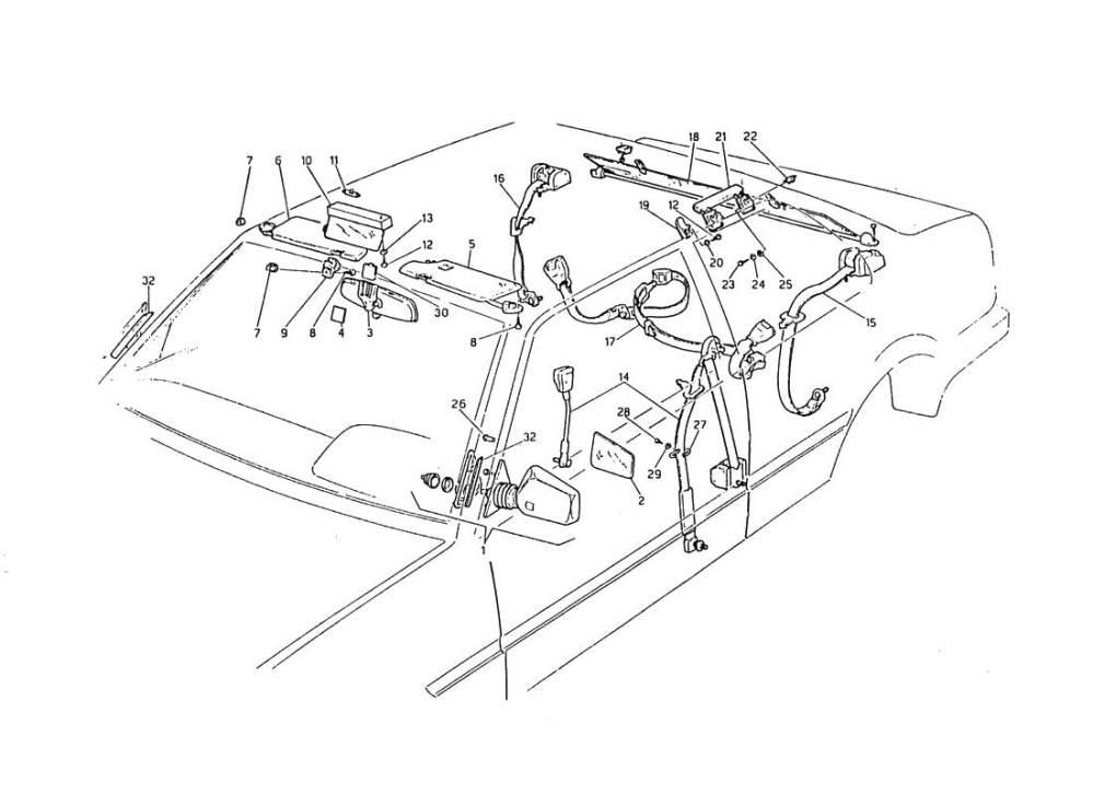 medium resolution of diagram search for maserati biturbo 2 5 1984 ferrparts 1984 maserati biturbo wiring diagram
