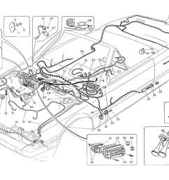 maserati biturbo wiring diagrams best wiring librarydiagram wiring harness and electrical components l h steering maserati [ 1100 x 800 Pixel ]