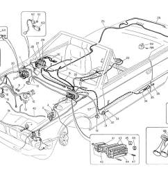 diagram wiring harness and electrical components l h steering 059 ferrparts [ 1100 x 800 Pixel ]