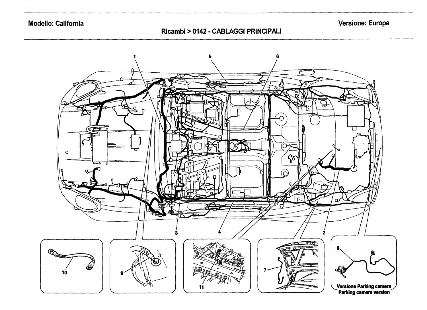 Service manual [2010 Ferrari California Wiring Diagram Pdf