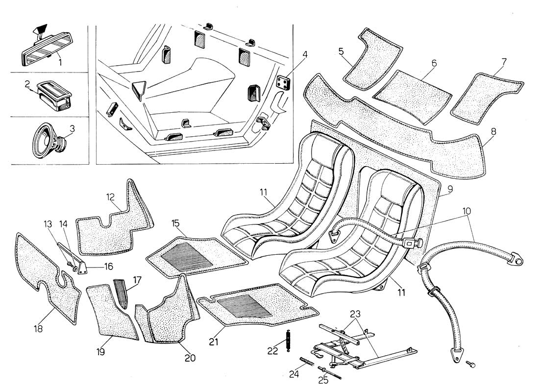 hight resolution of countach diagram