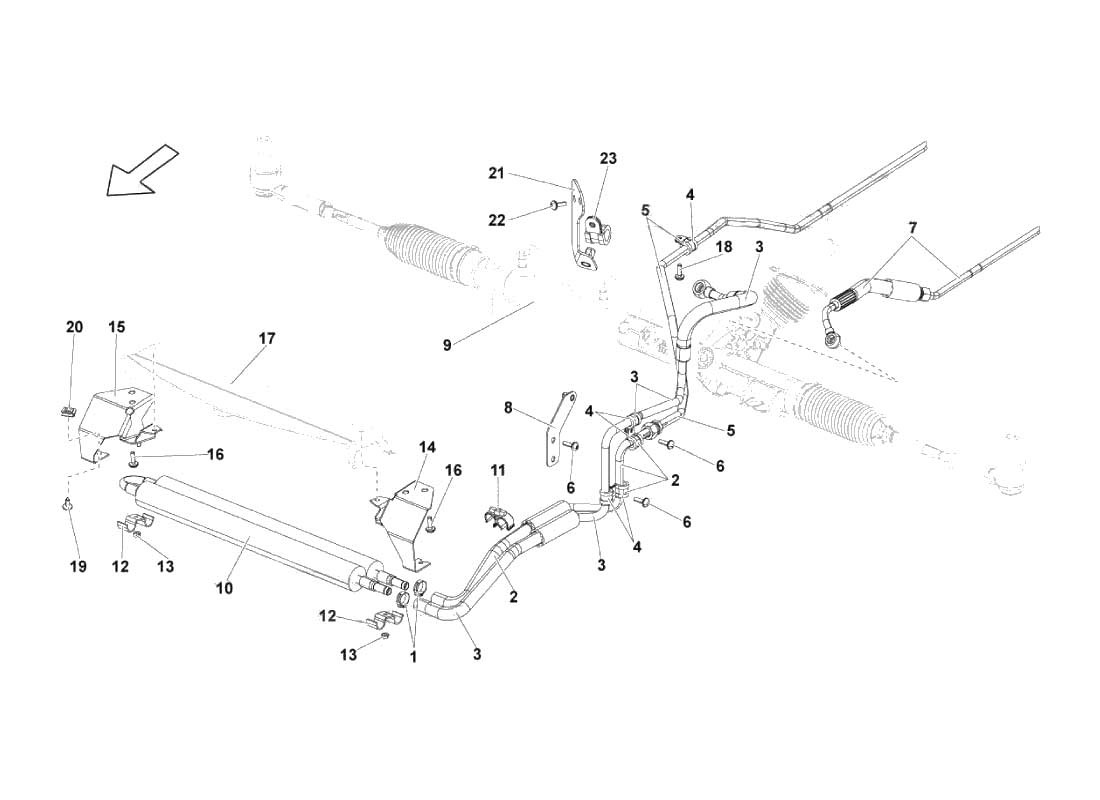 Service Manual Diagram For A Lamborghini Gallardo Swingarm Bearing Removal