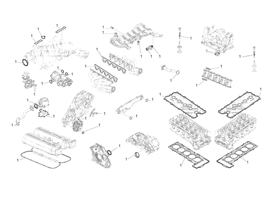 Lamborghini Gallardo Main Fuse Box Diagram Cover Panel Oem