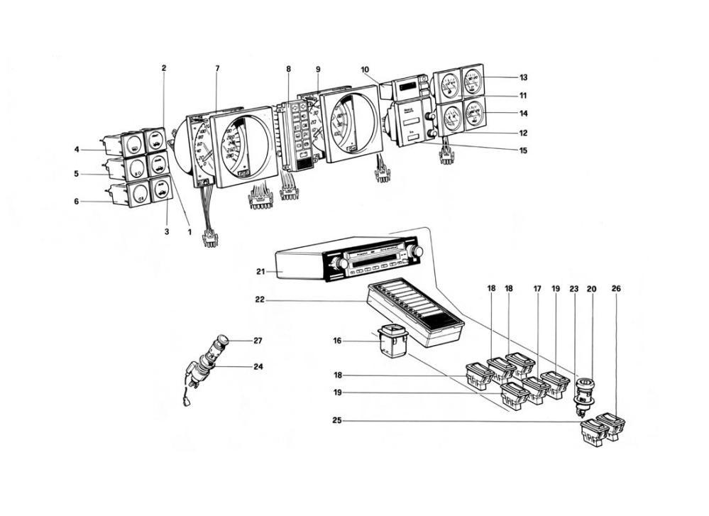 medium resolution of ferrari mondial wiring diagram