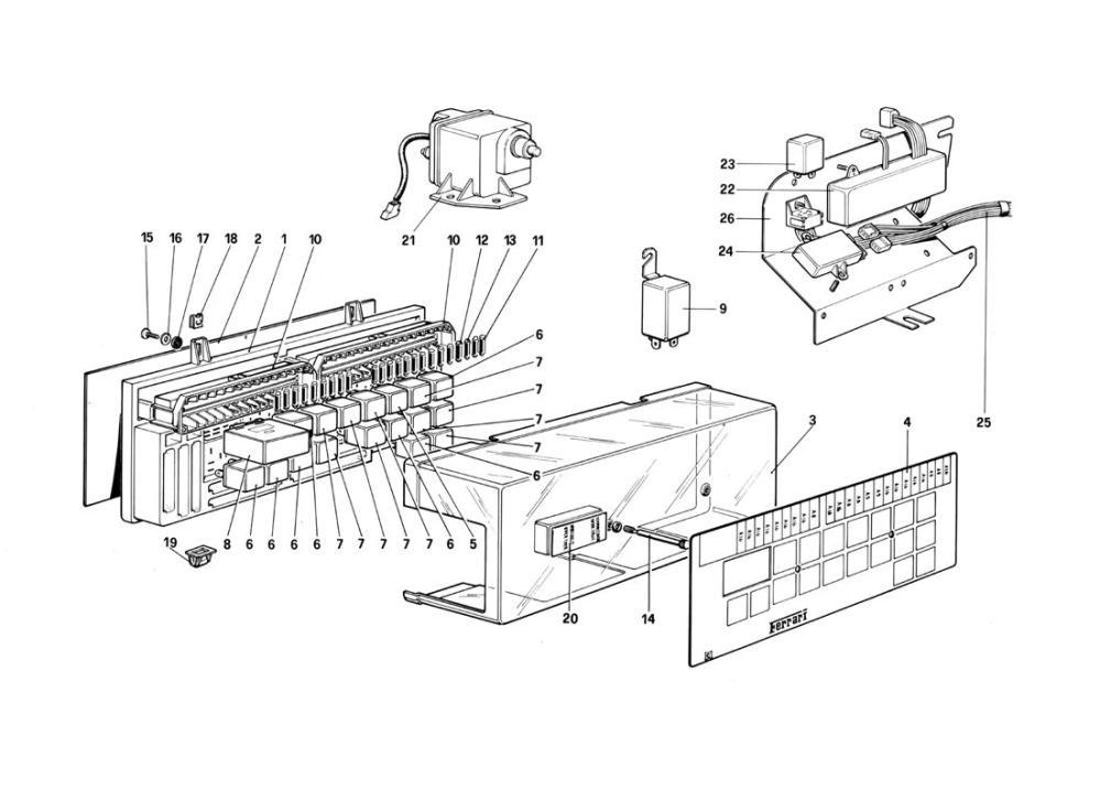 medium resolution of ferrari mondial wiring diagram wiring diagrams ferrari mondial wiring diagram