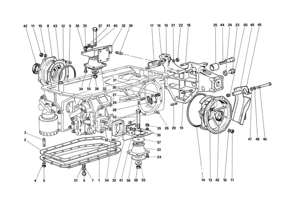 medium resolution of diagram search for ferrari testarossa 1987 ferrparts ferrari engine diagram