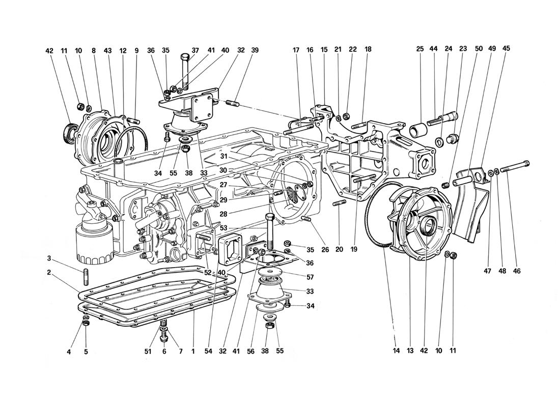 hight resolution of diagram search for ferrari testarossa 1987 ferrparts ferrari engine diagram