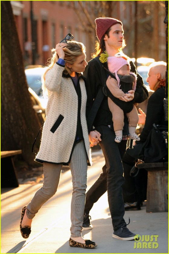 Sienna Miller & Tom Sturridge Enjoy an Afternoon Stroll With Their Daughter Marlowe