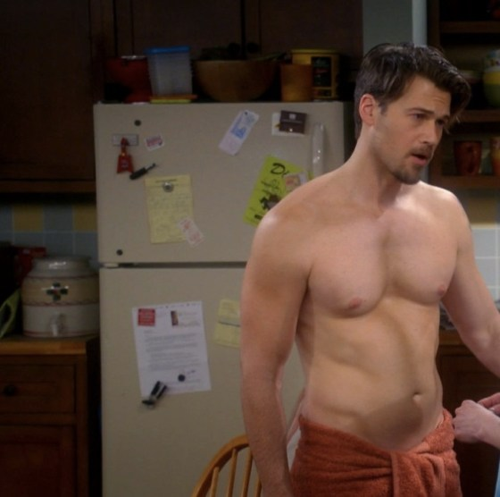 nick zano shirtless mom
