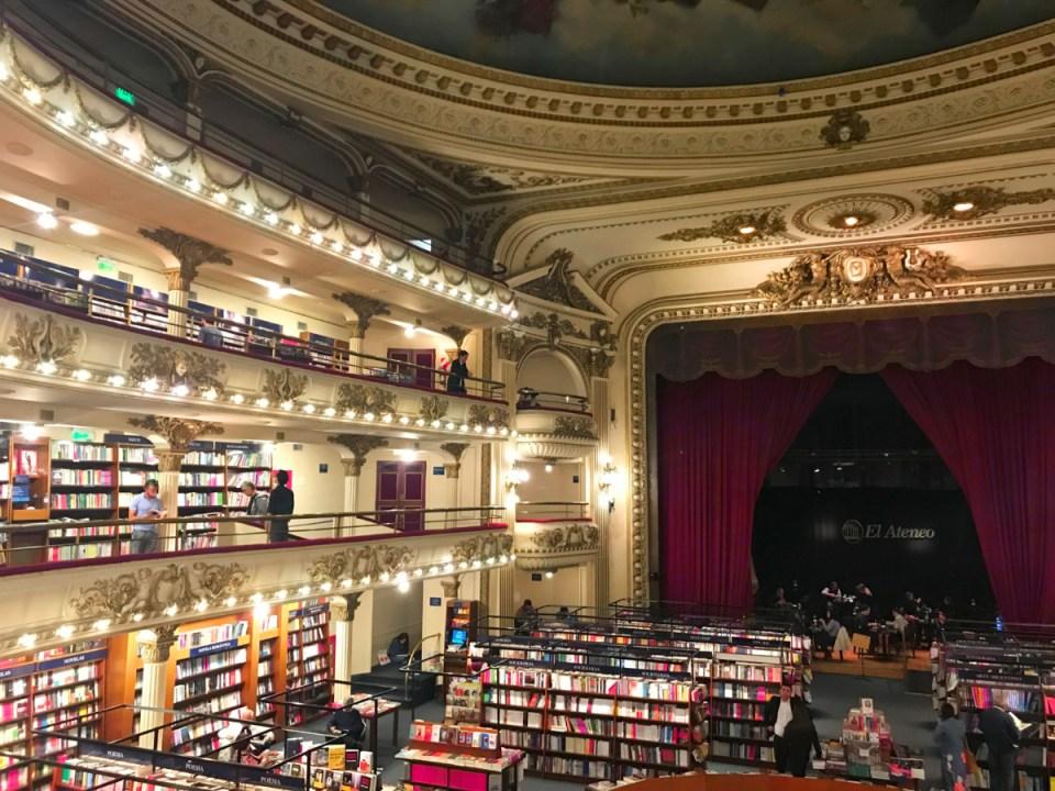 Livrarias em Buenos Aires, livraria El Ateneo Gran Splendid