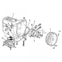 Massey Ferguson Backhoe Transmission Brake, Axles, Drive