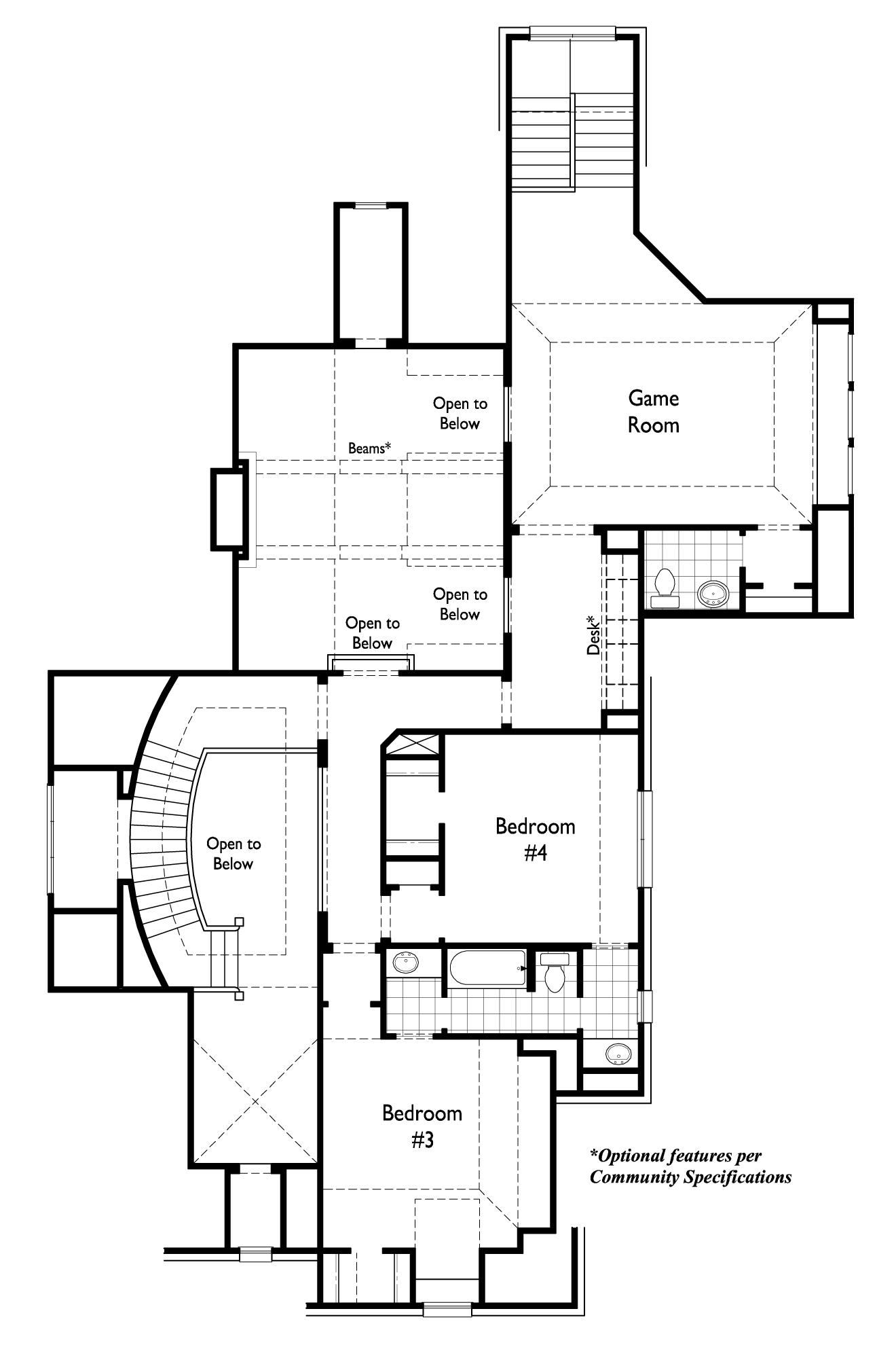 New Home Plan 3970 in Prosper, TX 75078