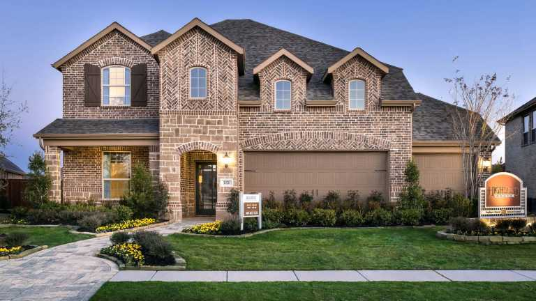 New Homes in Devonshire 60ft lots  Home Builder in Forney TX