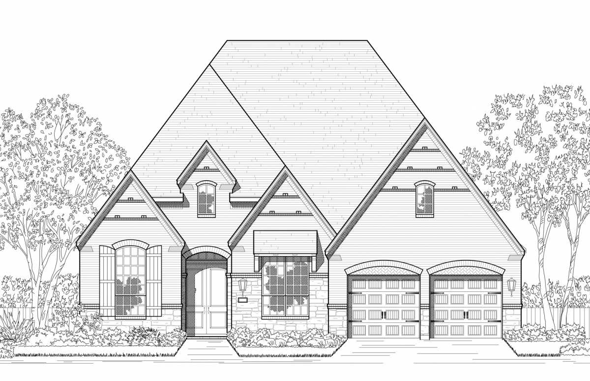 New Home Plan 216 in Prosper, TX 75078
