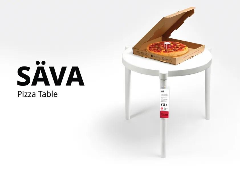 ikea and pizza hut make a lifesize
