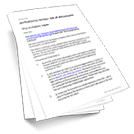 Template Agreements For The Manufacture Of Goods