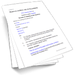 Notices & Minutes To Remove A Company Auditor