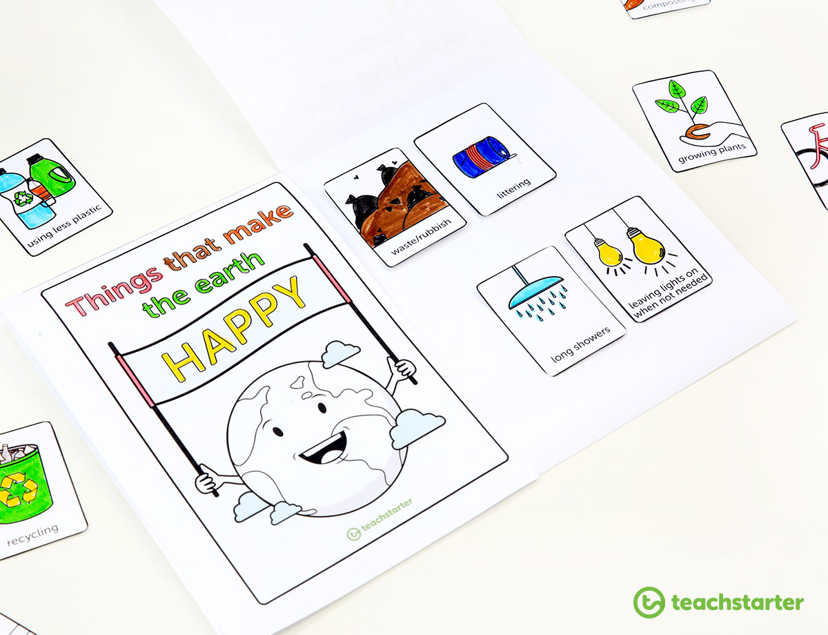 Environmental Awareness Flip Book