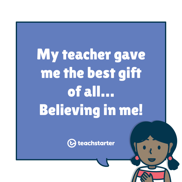 Teacher Gift a Child Is Different Every Times Unwrap