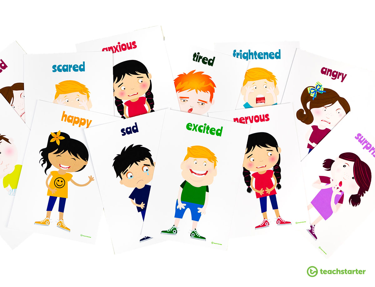 Activities And Printables For Teaching Emotions To Kids