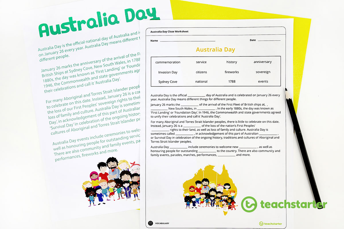 The Best Australia Day Activities And Books For Your Class