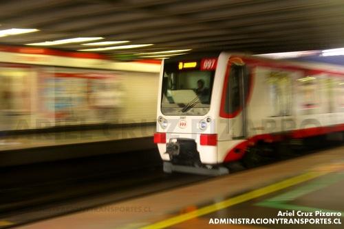 Metro de Santiago – CAF NS2007