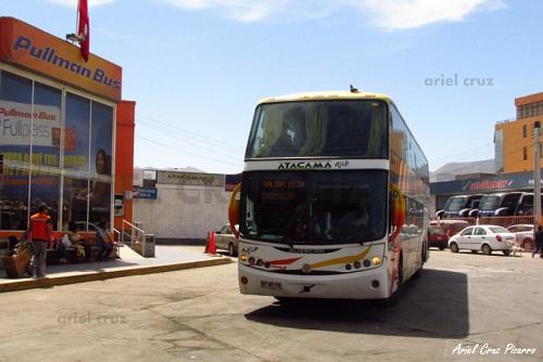 EV: Atacama Vip en viaje Copiapó – La Serena, Busscar Panorâmico DD