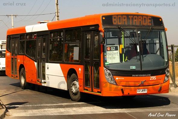 Transantiago | Neobus Mega Low Entry – Volvo B7R LE