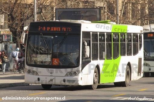 Transantiago – Caio Mondego L rígido – Volvo B7R LE
