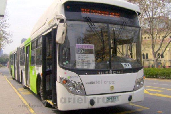 Transantiago | Busscar Urbanuss – Volvo B9 SALF
