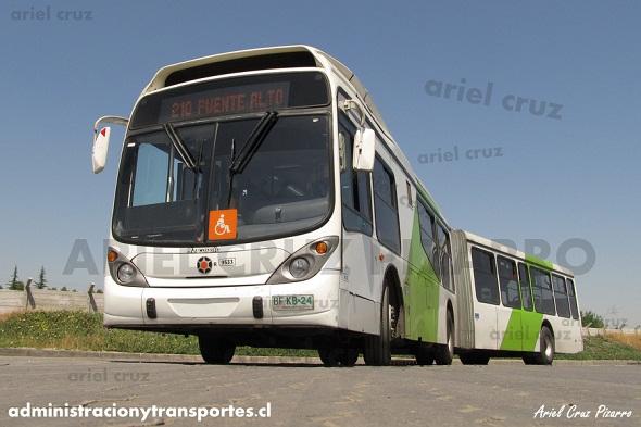 Terminal Recoleta Transantiago: Parte 2 – Bus Gran Viale articulado