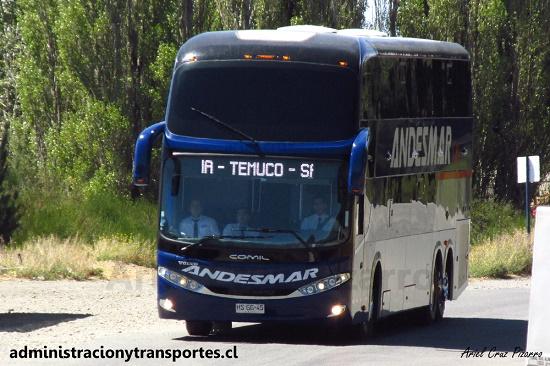 EV: Andesmar Chile en viaje Bariloche – Santiago, Comil Campione DD