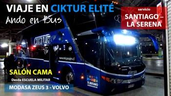 Ando en Bus Ciktur Elité | Modasa Zeus 3 - Volvo / JJJC82