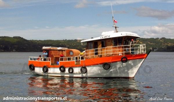 Viaje a Chiloé #7: Navegación a la Isla Caucahue