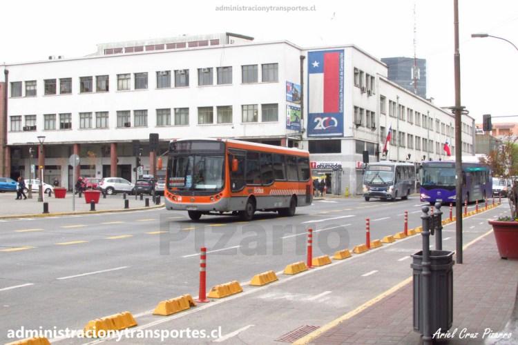 Biobus, bus urbano y el bus eléctrico de Concepción