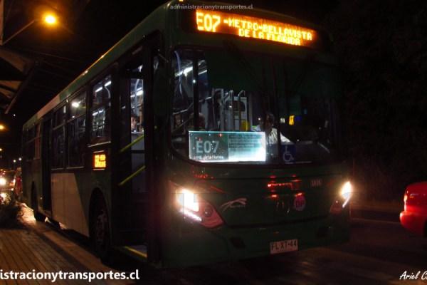 CU06 – Bus Euro 6 en recorrido E07 + Atardecer en Rojas Magallanes