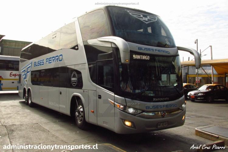 Buses Fierro HRXG69 | Marcopolo Paradiso 1800 DD - Scania