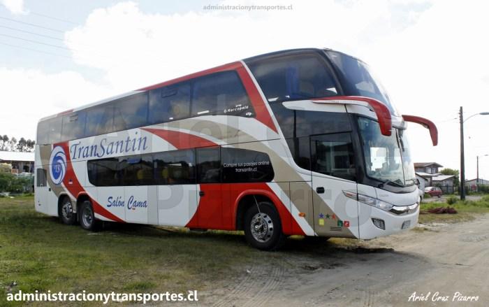 Buses Transantin HYDC20 en La Pasada