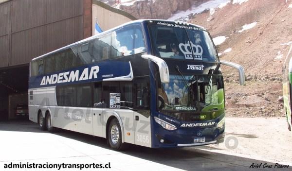 21 buses en el Paso Los Libertadores (Octubre 2016)