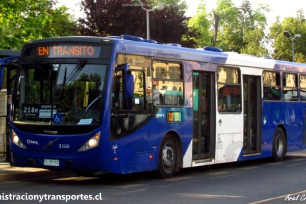 Transantiago | Caio Millenium III – Volvo B290R LE (B2P)