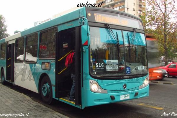 Buses Caio Mondego H B2P Transantiago