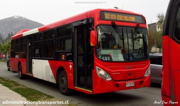 Transantiago | Caio Mondego II – Scania K280 UB (Euro 6)