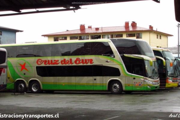 EV: Viaje en Cruz del Sur 713, Castro a Santiago (Salón Cama)