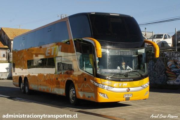 ABC Viajero: los buses de dos pisos en Chile