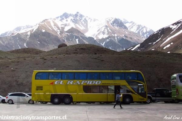 EV: Viaje Santiago a Mendoza en El Rápido Internacional (Metalsur)