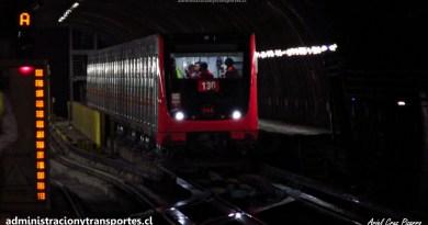 El primer Metro armado en Chile, el nuevo Alstom NS16