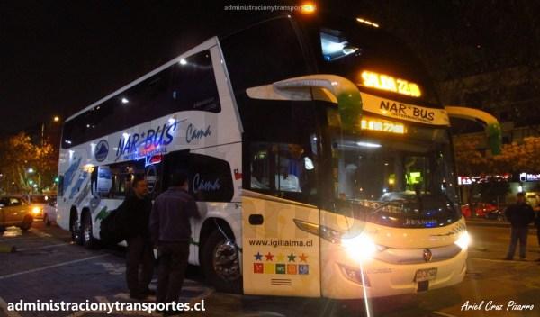 EV: Viaje en NarBus 361, Salón Cama de Santiago a Valdivia