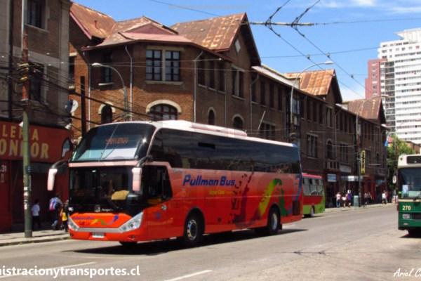 EV: Pullman Bus Costa Central 381, Santiago a Valparaíso